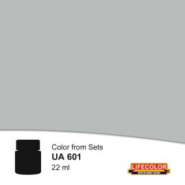 UA601 LifeColor Hellgrau / Silbergrau (22ml) DKM 50 FS36300 Part of set CS09