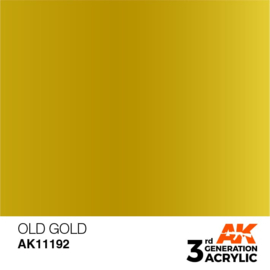 AK11192 OLD GOLD – METALLIC