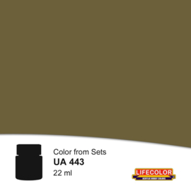 UA443 LifeColor Battledress Light Tone (22ml) part of CS41