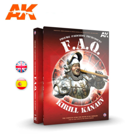 AK630 F.A.Q. Figure Painting Techniques The complete guide for figure scale modellers