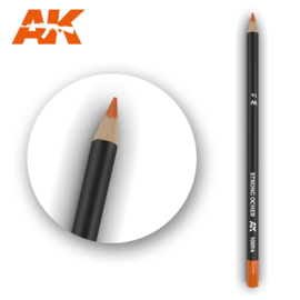 AK10014 Single Pencil Strong Ocher