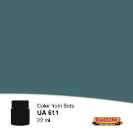 UA611 	LifeColor Dunkelgrau 53 (22ml) FS 36008 Part of CS12