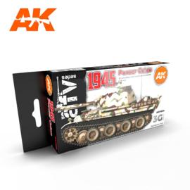 AK11654 3rd Gen 1945 PANZER COLORS