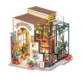DG145 Robotime Emily's Flower Shop  (DIY kit approxx 1:24)