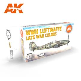 AK11718 3rd Gen WWII LUFTWAFFE LATE WAR COLORS