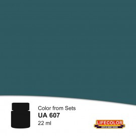 UA607 LifeColor Schiffsbodenfarbe III Grau (22ml) DKM 23 FS 36044 Part of CS12 FS36044