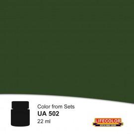 UA502 LifeColor Dunkelgrun rlm 71 FS34079 (22ml) (from set CS06)