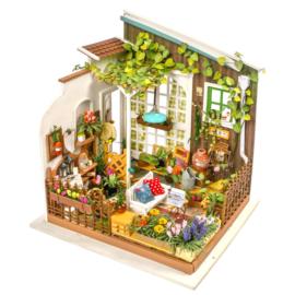 DG108 RobotimeMiller's Garden (DIY kit approxx 1:24)