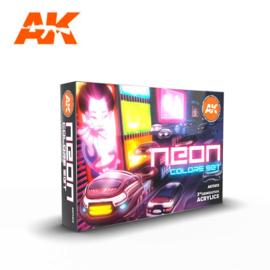 AK11610 NEON COLORS SET