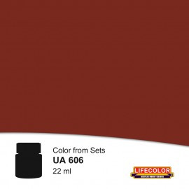 UA606 	LifeColor Schiffsbodenfarbe rot 5 (22ml) FS31136 Part of set CS09
