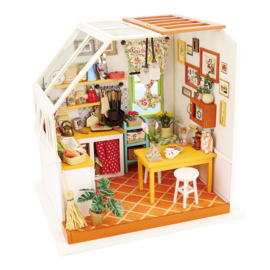 DG105 Robotime Jason's Kitchen (DIY kit approxx 1:24)