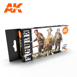AK11636 3rd Gen WWII BRITISH UNIFORM COLORS