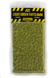 AK8118 Light green tufts 6mm