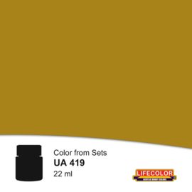 UA419 OLIVE DRAB LIGHT MUSTARD