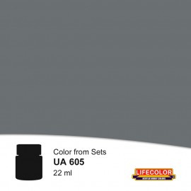 UA605  LifeColor Dunkelgrau (22ml) FS36118 Part of set CS09