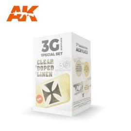 AK11712 3rd Gen CLEAR DOPED LINEN