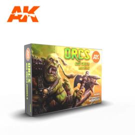 AK11600 3rd Gen Orcs and Green Models Set