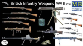 MB35109 1:35 Masterbox British Infantry Weapons WW II era