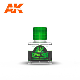 AK12004 Extra Thin Citrus Glue 40ml (For Plastic)