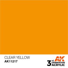 AK11217 CLEAR YELLOW – STANDARD