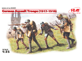 ICM35291 1:35 ICM WWI German Assault Troops