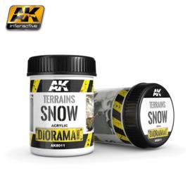 AK8011  AK Interactive Terrains Snow 250ml