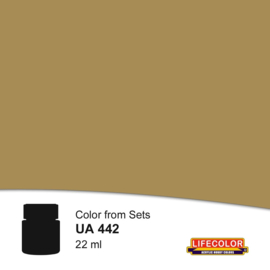 UA442 LifeColor Yellow Tone Gear (22ml) Part of CS41