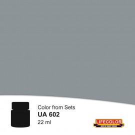 UA602 	LifeColor Dunkelgrau (22ml) DKM 51 FS36173 Part of set CS09
