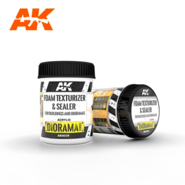 AK8039 Ak Interactive Foam Texturizer & Sealer - for Buildings and Dioramas 250ml