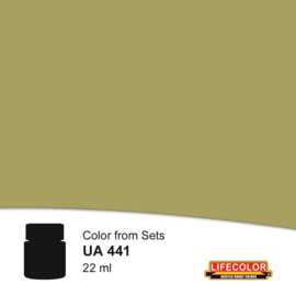 UA441 	LifeColor Green Tone Gear (22ml) Part of CS41