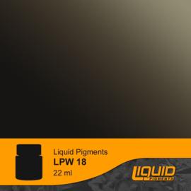 LPW18 LifeColor Liquid Pigments Wooden Deck Darkener (22ml)