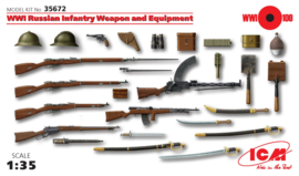 ICM35672 1:35 ICM WWI Russian Infantry Weapon and Equipment