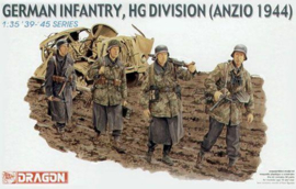 DR6158 1:35 Dragon German Infantry, HG Divison (Anzio 1944