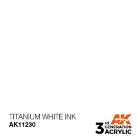AK11230 TITANIUM WHITE – INK