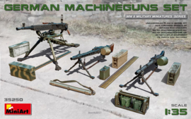 MN35250 1:35 Miniart German Machine gun set