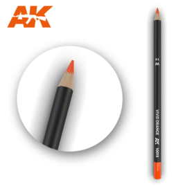 AK10015 Single Pencils Vivid Orange