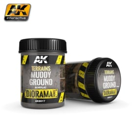AK8017 AK Interactive Terrains Muddy Ground (250ml)