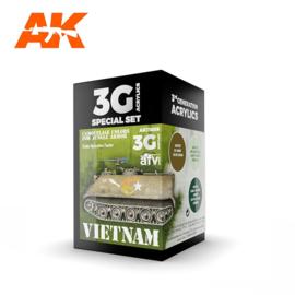 AK11659 3rd Gen VIETNAM CAMOUFLAGE COLORS FOR JUNGLE COLORS