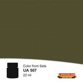 UA507 LifeColor Graugrun rlm 74  FS36081 (22ml) (from CS07 set)