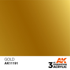 AK11191 GOLD – METALLIC