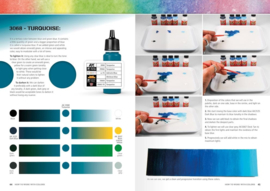 AK293 FAQ How to work with colors and transitions with acrylics