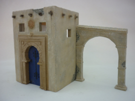 RT35187 1:35 RT-Diorama North African House No. 2 incl lasered windows and doors!