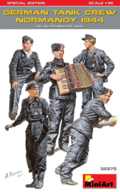MN35275 1:35 Miniart German Tank crew Normandy 1933 Special Edition set