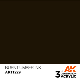 AK11229 BURNT UMBER – INK