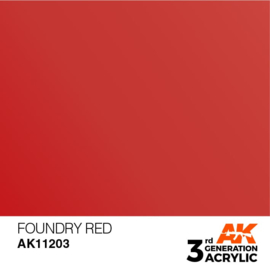 AK11203 FOUNDRY RED – METALLIC