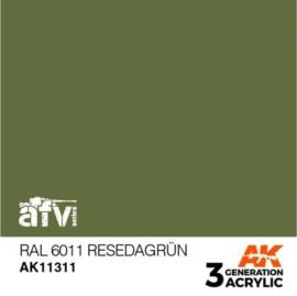 AK11311 RAL 6011 Resedagrün