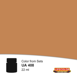 UA408 LIGHT BROWN