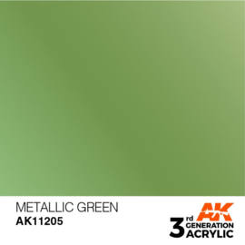 AK11205 METALLIC GREEN – METALLIC