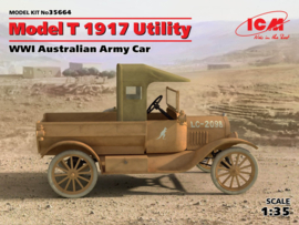 ICM35664 1:35 ICM Model T 1917 Utility, WWI Australian Army Car