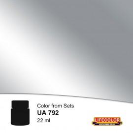 UA792 Polished Aluminium (Black Base Not Needed)